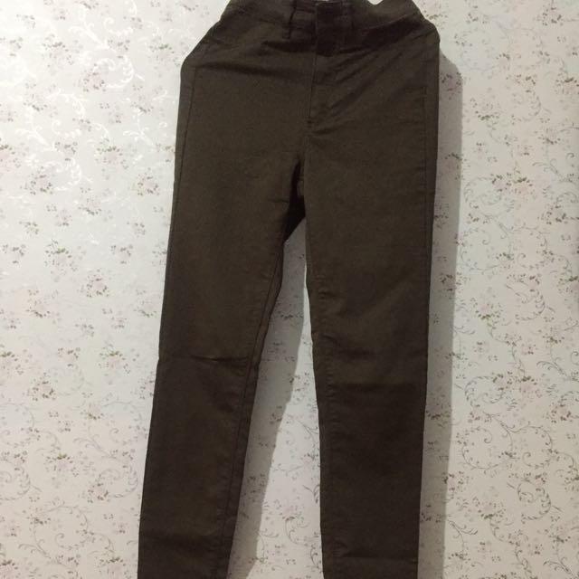 H&m Super Skinny Jeans Army