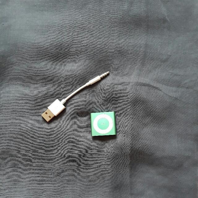 I Pod Shuffle Green 2 Gb