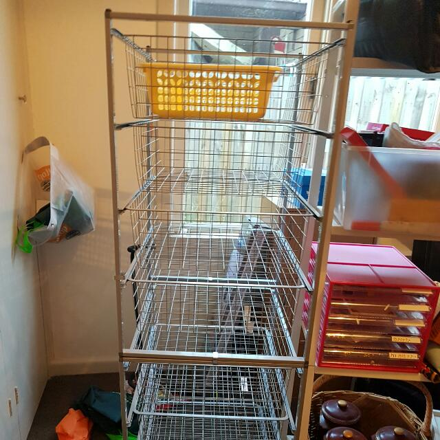 Ikea Stackable Wire Racks