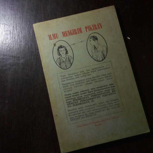 Ilmu Mengirim Pikiran (Buku Antik, Ejaan Lama)