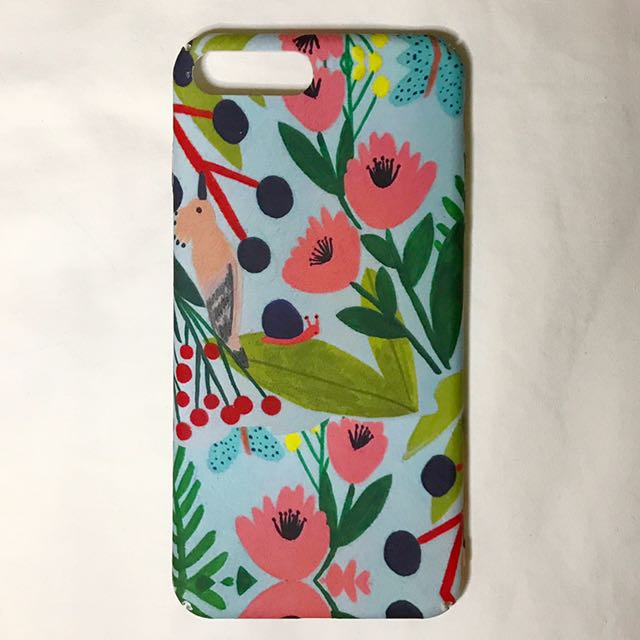 iPhone 7 Plus Hardcase in Pastel Print