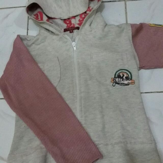 Jaket Anak Cowo With Hoodie
