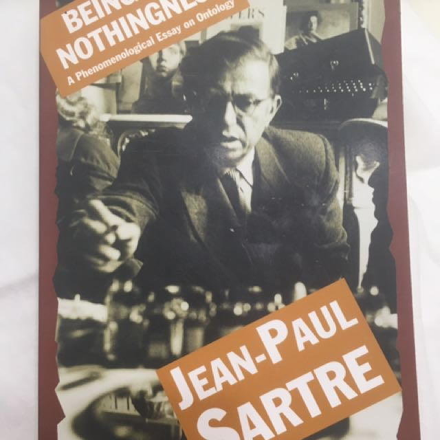 Jean-Paul Sartre: Being and Nothingness