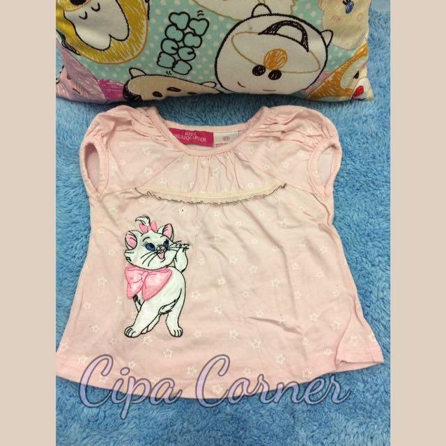 Kaos Anak Gambar Kucing