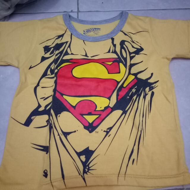 Kaos Superman Anak 2-3thn