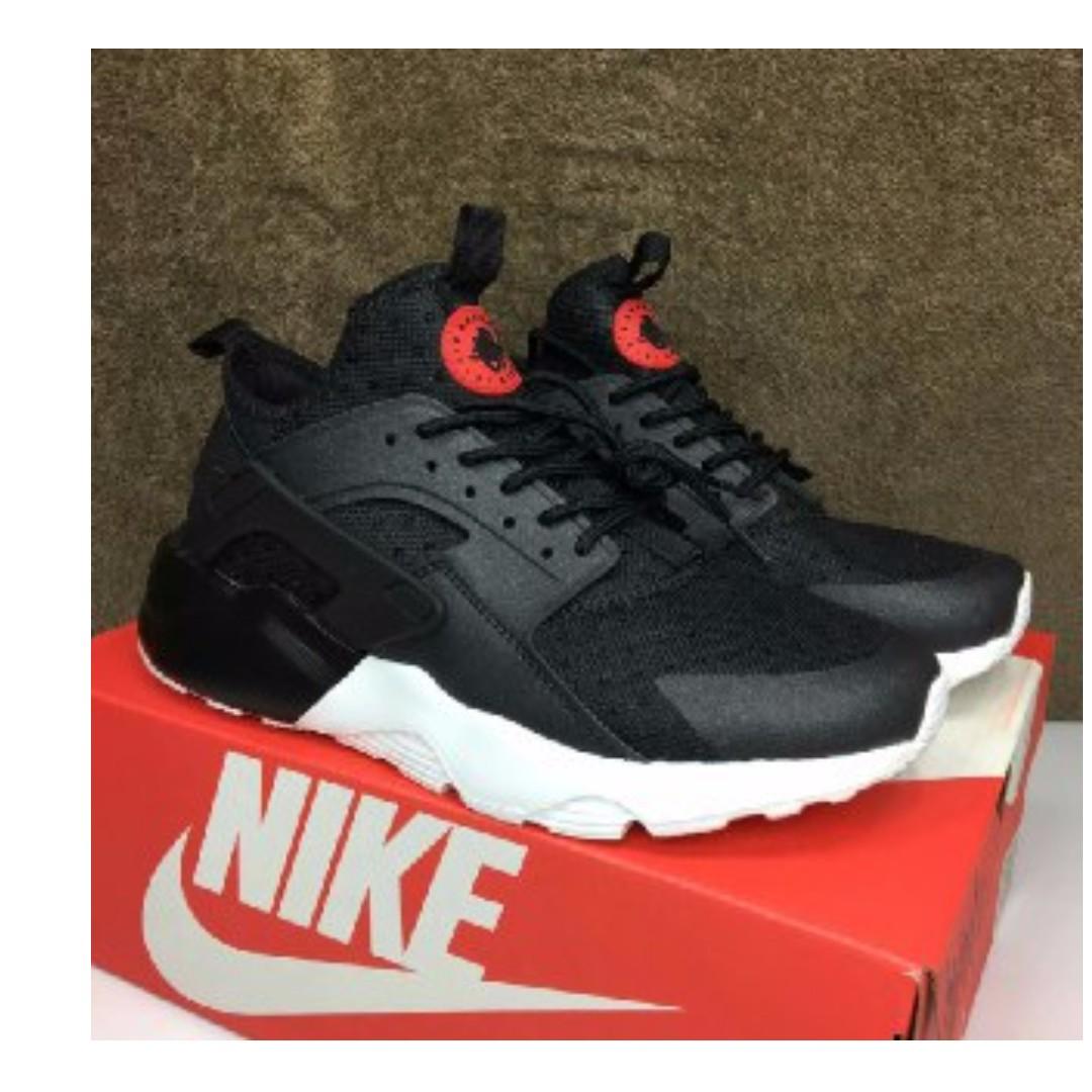Kasut Zapatillas Hombres Nike Huarache Negro Blanco Hombres Zapatillas Fashion Calzado En fce3b3