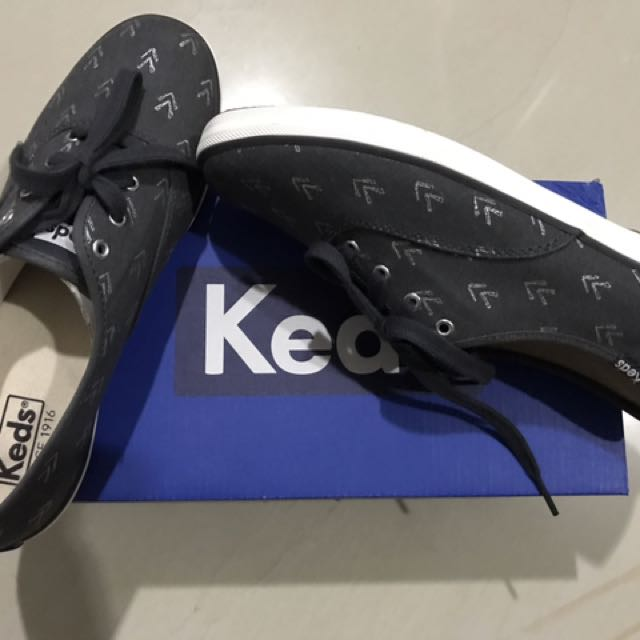 Keds Dbl Deck Quilted Lt. Gray