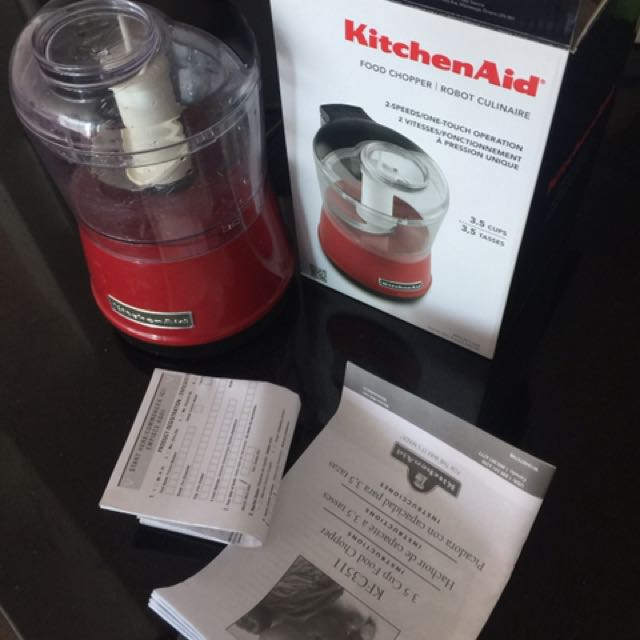 KitchenAid food Chopper- Red