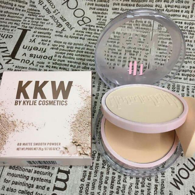 Kylie KKW  Double powder