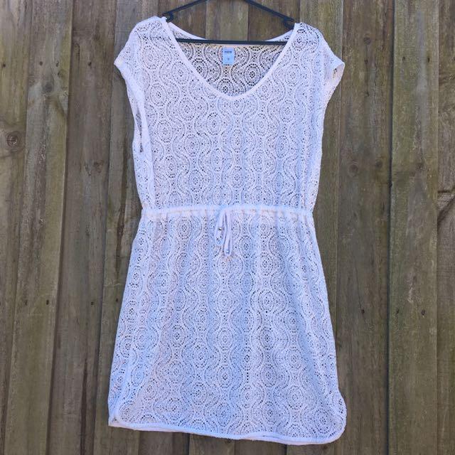 Lacey White Women's Kaftan Size S