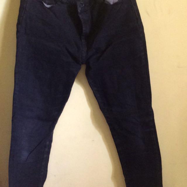 Logo Black Jeans