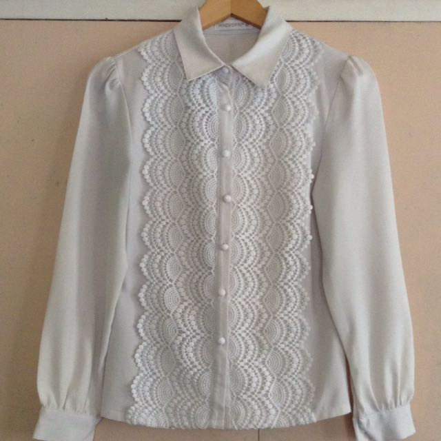 Long Sleeves Button Down
