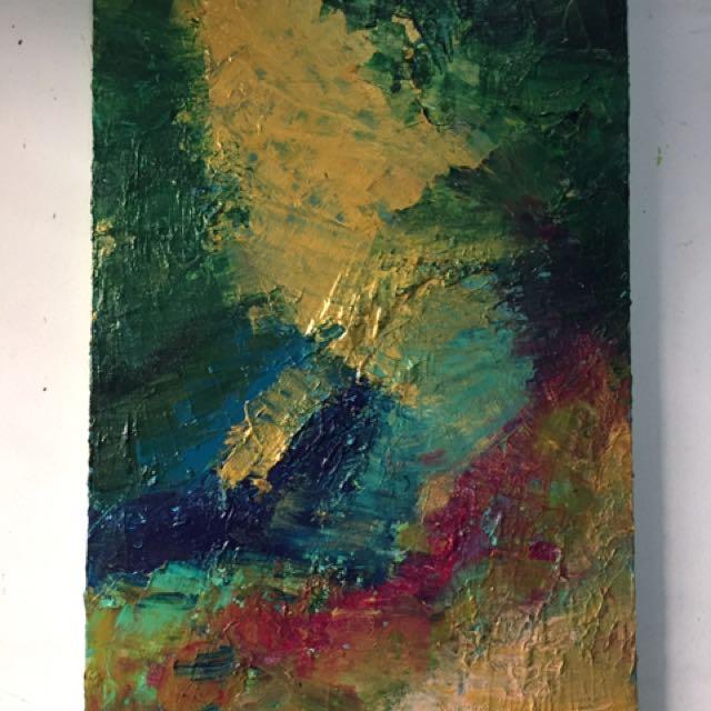 "Lukisan ""Metamorphose 50x80 Cm"""