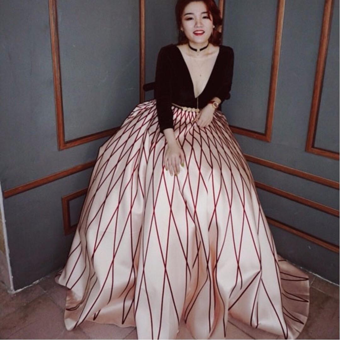 d3493cebd4b Luxury Long Sleeve Ball Gown