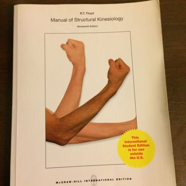 manual of structural kinesiology 二手原文書