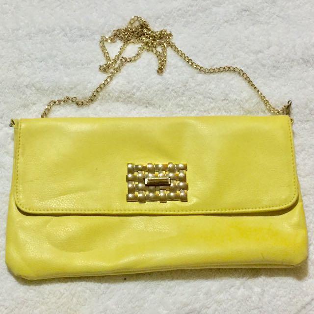 Mirrou Yellow Sling Bag