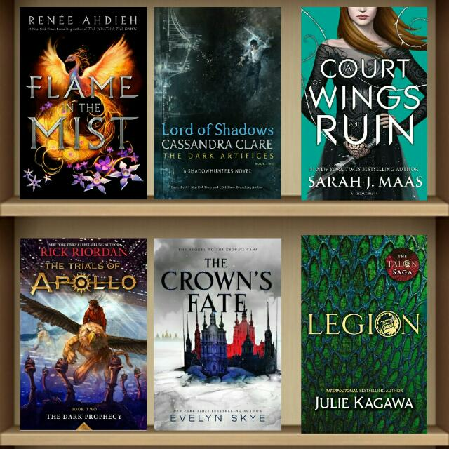 May 2017 YA Ebooks