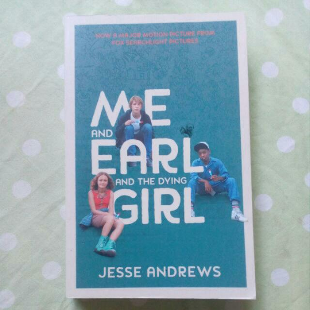 Me And Early And The Dying Girl By Jesse Andrews Book
