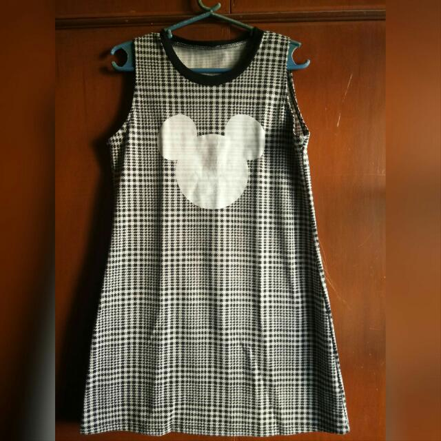 Mickey Mouse long Top/Mini Dress