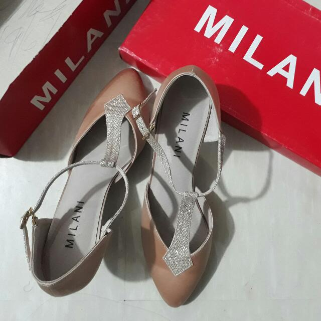 Milani Elegance Ballroom Dancing Shoes with Glitters T-Strap