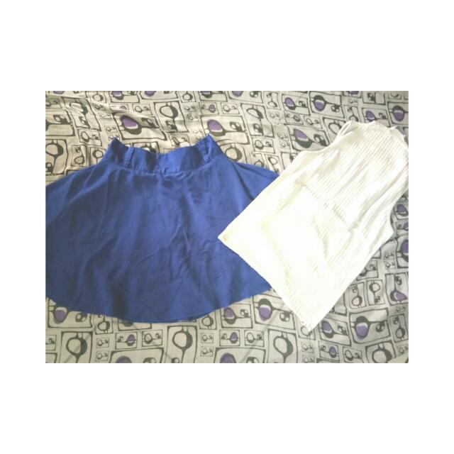 Mini Rok Blue