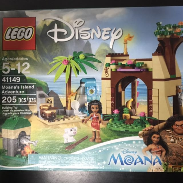 Moana Lego, Babies & Kids, Toys on Carousell