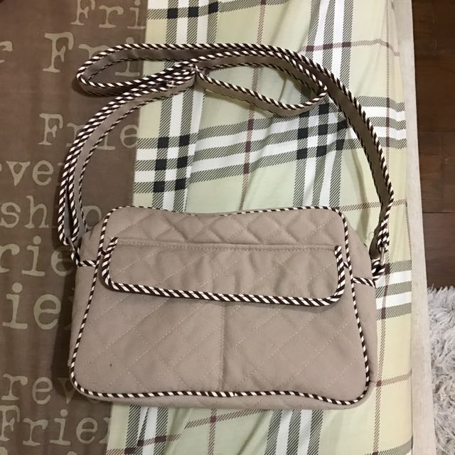 NARAYA brown sling bag