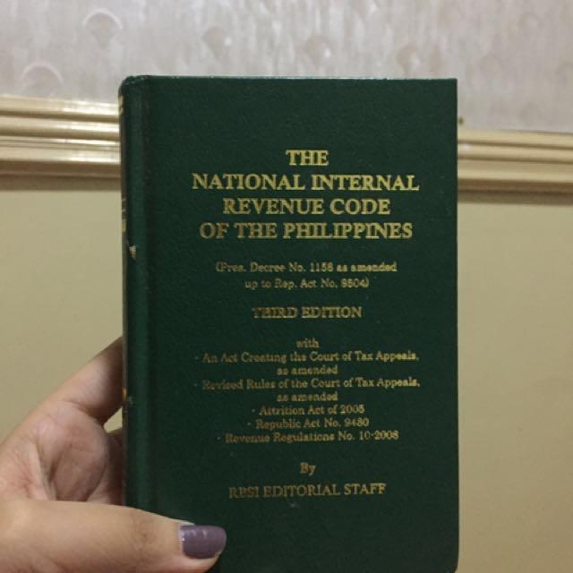 National Internal Revenue Code PH