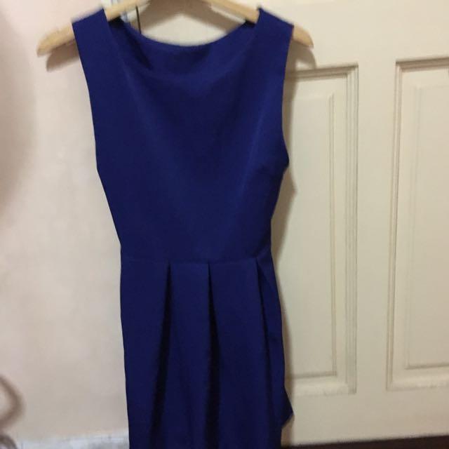 Cobalt Blue Basic Dress