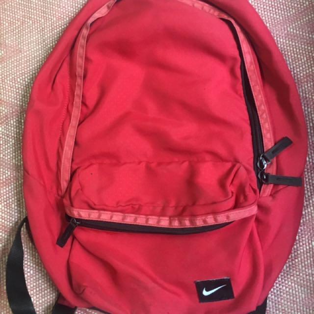 Nike Athletic Bag (Red)
