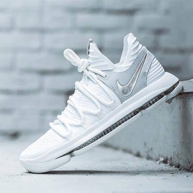 代購NIKE KD 10籃球鞋,全白,需要型號請先詢問,確定要請先匯款訂金價格一半#nike