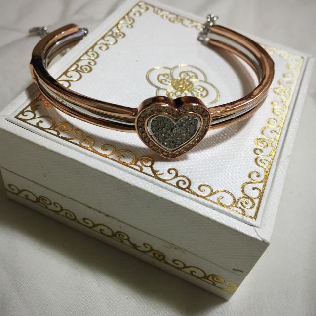 Nina Queen Two-tone Bangle