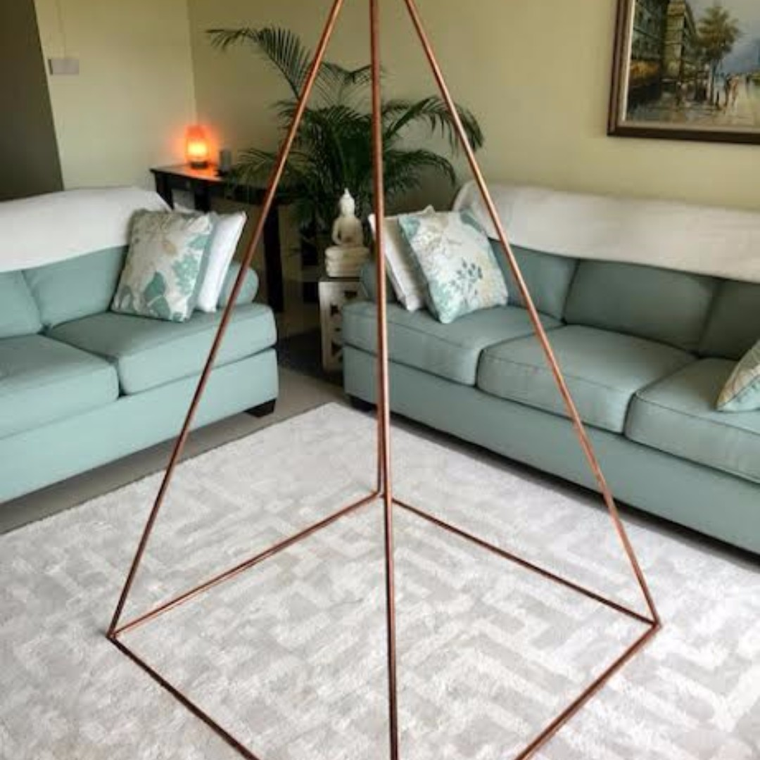 Nubian Copper Pyramid Full Set, Furniture, Others on Carousell