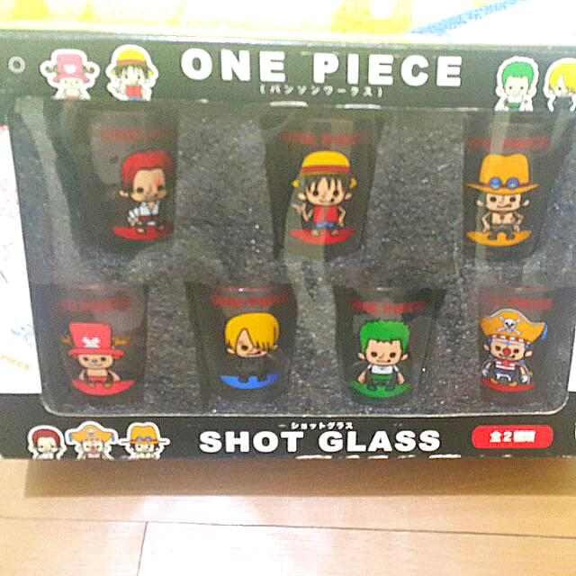 One Piece Shot Glass (Set Of 7)