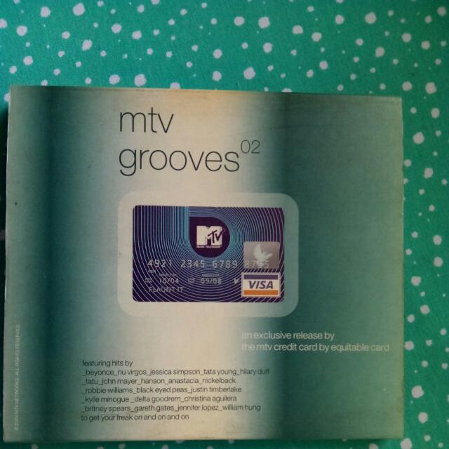 Original CD Album MTV Grooves Superstars