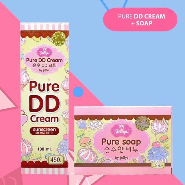[PAKET] Jellys Product: DD Cream Lotion & Pure Soap