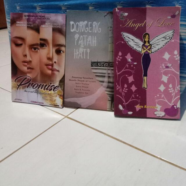 Paket Novel Kopri 4 (Promise, Dongeng Patah Hati, Angel Of Love)