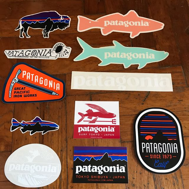 Patagonia Sticker, Sports, Sports & Games Equipment on Carousell