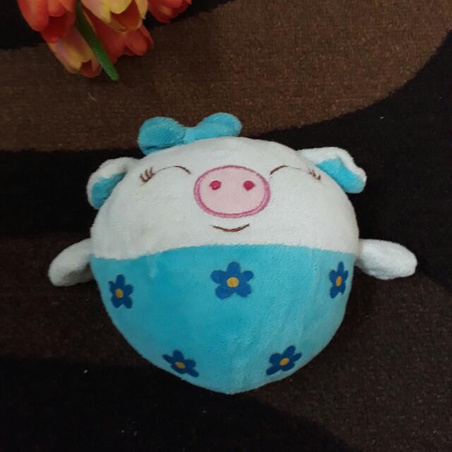 Pig Blue Flower