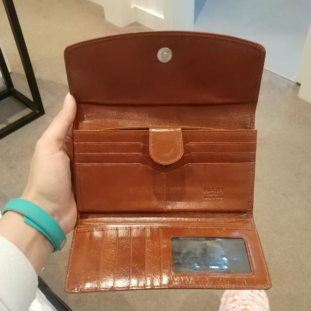 Prada Leather Wallet