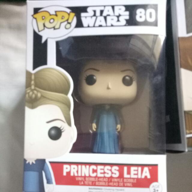 Princess Leia Boxed Pop Vynl