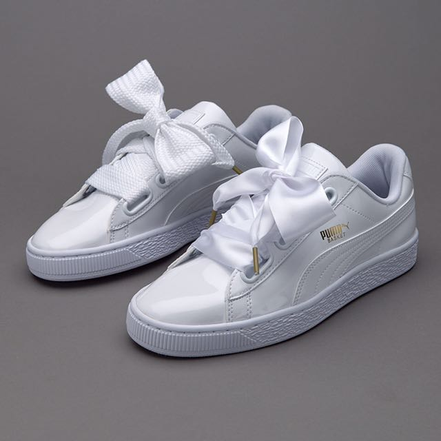 Puma Basket Heart Patent Leather   Suede 8f5e318c7