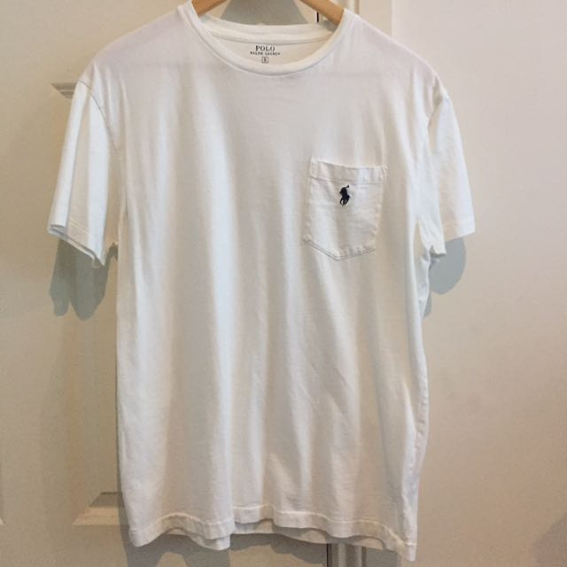 RALPH LAUREN White T-Shirt