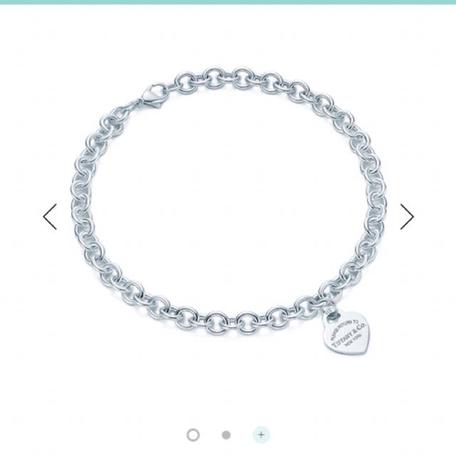 Return To Tiffany Heart Tag Necklace