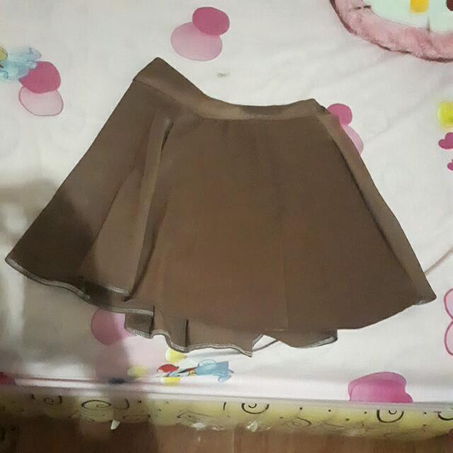 Rok Brown Skirt