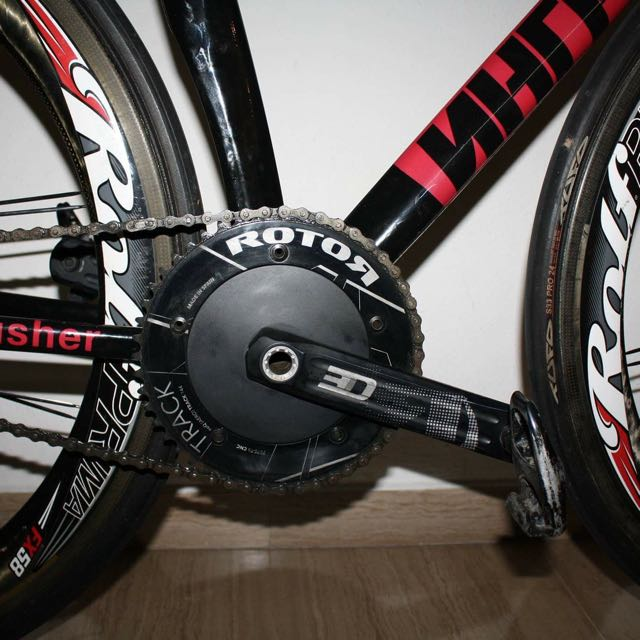 Rotor Track Crankset For Sae Sports Bicycles On Carousell