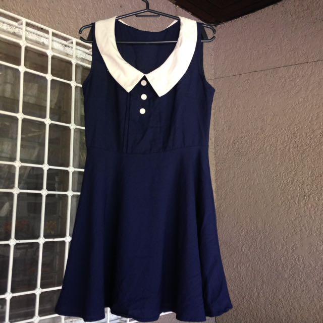 Royal blue Classic Dress