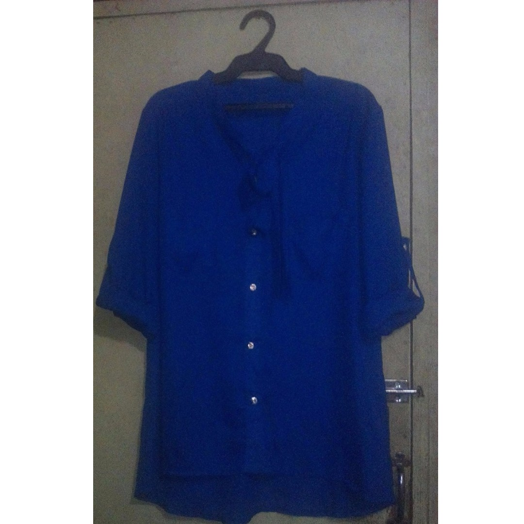 Royal Blue Corporate Top