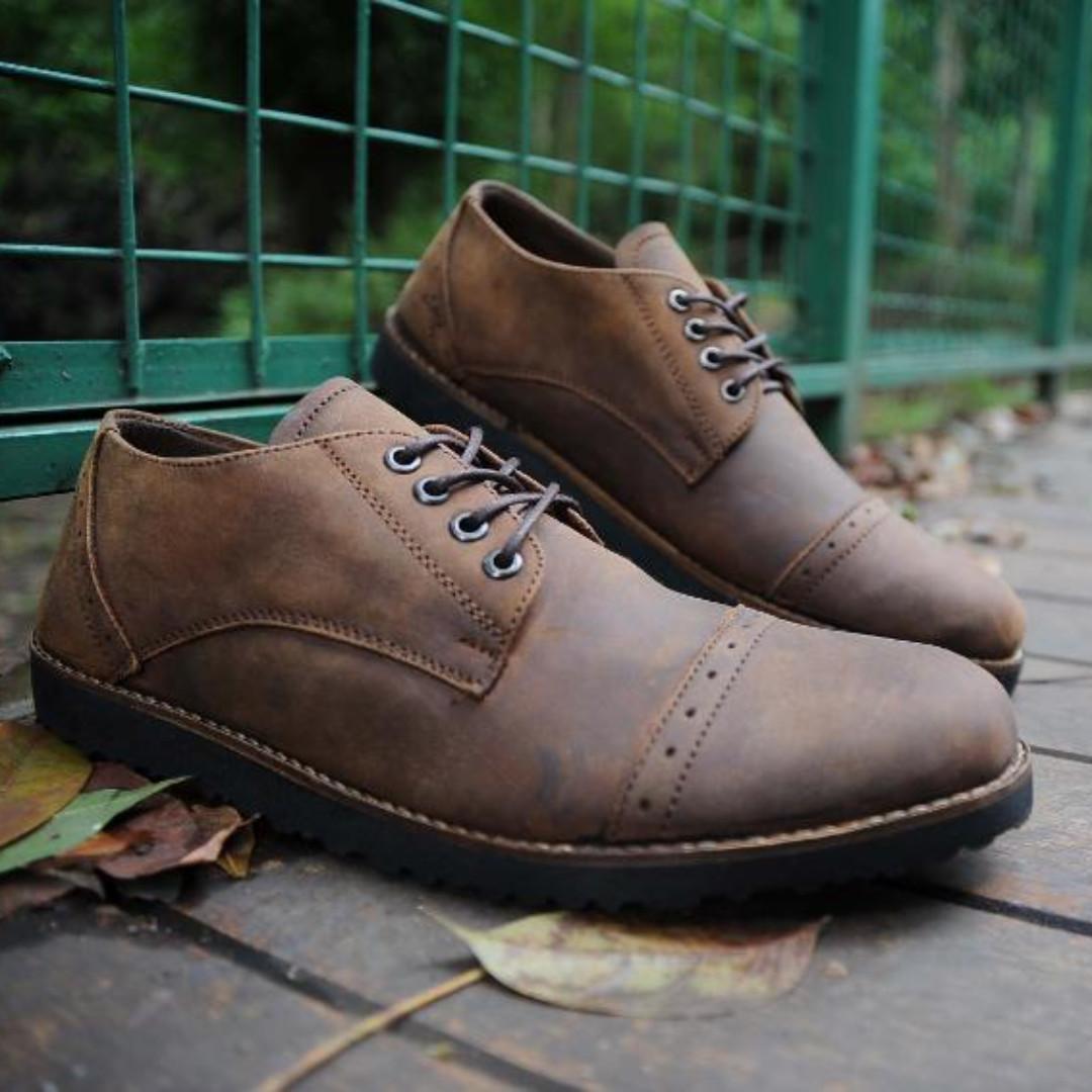 Sepatu Kulit Pria - Simple Culture