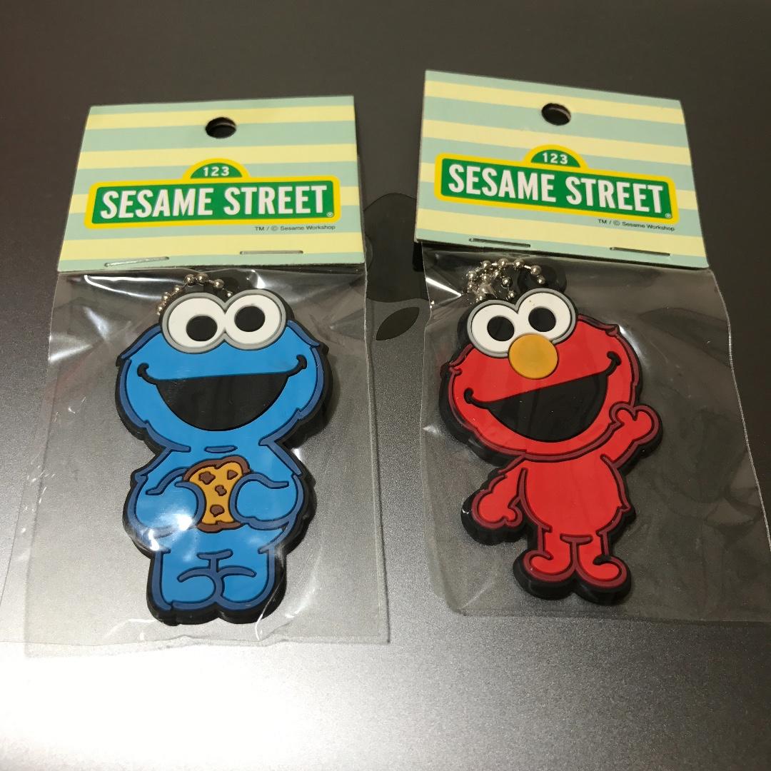芝麻街sesame street可愛療癒吊飾